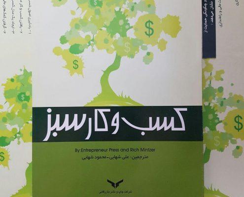 کتاب کسب و کار سبز، دکتر علی شهابی، انتشارات کارآفرینی، انتشارات شرکت چاپ و نشر بازرگانی